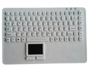 China OEM IP68 medical silicone rubber keyboard for laptop PC keyboard in Europe on sale