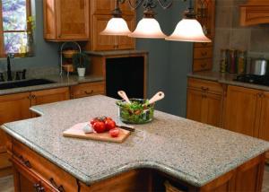 China White Kitchen Natural Granite Countertops Worktops 45 Degree Cutting on sale