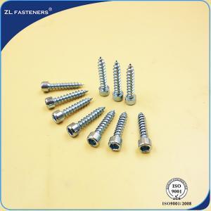 China M3~ M12 Socket Cap Head Screw / Self Tapping Wood Screws Zinc Plated on sale