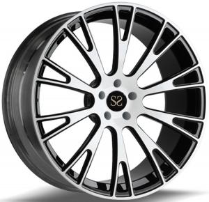 China Gloss Black Alloy Wheels Rims 1-PC 20inch  Forged Car Rims For Audi Vossen  Rims 5x112 on sale