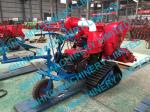 14 HP diesel engine mini wheat rice combine harvester