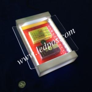 China Tobacco LED Coin Tray Cigarette Lighted Cash Tray Illuminated Money Tray on sale
