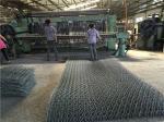 PE / PVC Coated Gabion BoxDouble Twist Welded Gabion Baskets For Road Protection