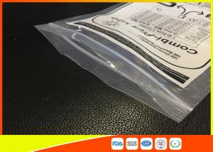 Quality Printed Industrial Strength Plastic Bags With Vent Hole , Small Ziplock Pouches for sale