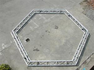 China Hexagonal Octagonal Square Circular Truss Aluminum 300X300 mm For Concert on sale