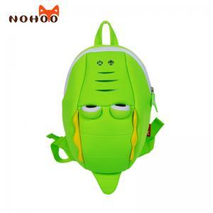 China NHB220 crocodile Nohoo neoprene children 3d cartoon Backpack for kids on sale