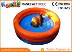 0.55mm PVC tarpaulin Giant  Inflatable Rodeo Bull Mechanical Bull Sports Games