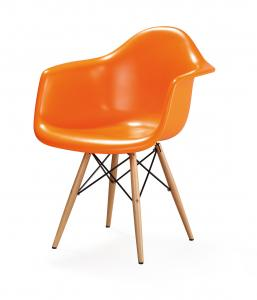 China Famous Leisure Chair Eames Plastic Armchair Modern Restaurant Chairs on sale