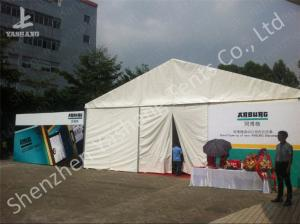China White and Blue Top Lining Outdoor Party Tents Structure, aluminum profile on sale