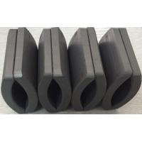 Customized Permanent Big Ferrite Arc Magnet For Air Pump 52.12*50.18*7.27 mm