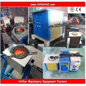 China Big Manufacturer in China Small induction melting furnace for sale: gold/silver/copper/brass melting on sale
