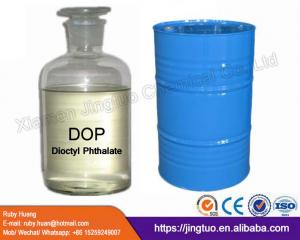 China DOP used for soft PVC products 99.5% plasticizer dioctyl phthalate on sale