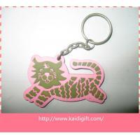 2D/3D soft pvc rubber keyholder/pvc 3D keyring key keychain