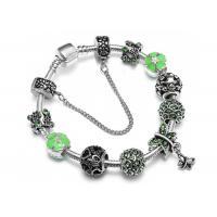Dragonfly Diamond Beaded Bracelet Pastoral Series Crystal Flower Bracelet