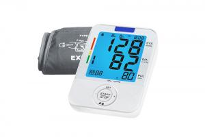 China Electronic sphgymomanometer digital upper arm blood pressure monitor with pulse oximeter on sale