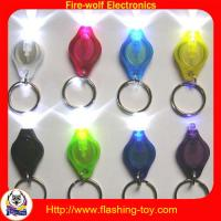 China Lithium battery Pocket Shining Mini LED Keychain Flashlights for home and office on sale