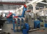 PET bottle baler breaker, label remover, dryer Line Waste Plastic Recycling Machines