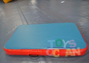 China Small Gymnastics Equipment Tumble Track / Inflatable Tumble Floor For Outside on sale