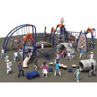 Outdoor Climbing Series kids games equipment - Slide&Climbing&Drilling etc function