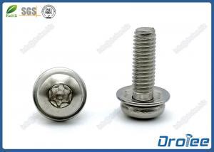 China Torx Pan Head SEMS Machine Screws w/ Flat Washer, Stainless Steel 18-8 on sale