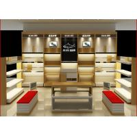 Customized Size Shoe Store Display Shelves For Boutique Brand Shoes Shop