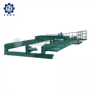 China 12 Meters Width Screw 2.5M High 15kw Compost Turning Machine on sale