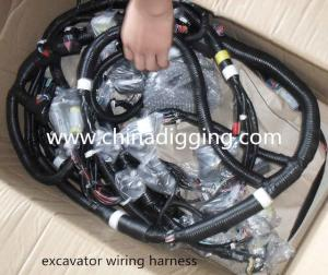 China excavator wiring harness on sale