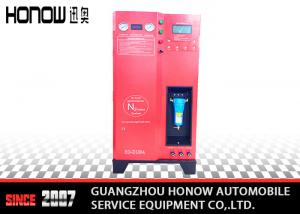 China Red Tire Inflation Nitrogen Inflator Machine High Purity / Nitrogen Tire Equipment on sale