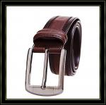 Stigmatisez la ceinture «Fuliter» 085 ceintures en cuir véritables d'hommes de vache bonne qualité