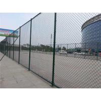 Highly Flexibility PVC Coated Chain Link Fence 3000 * 5000 mm For Separate