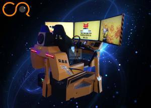 China Jishi 9D VR Racing Simulator 3dof Motion Seats Coin Operated Virtual Reality Speed Crazy Racing Car on sale
