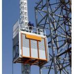 電流を通されたラック・ピニオンの構造の起重機のエレベーターは持ち上げ装置持ち上がりましたり/構造の