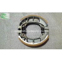 China Piaggio Typhoon 125 RA1 Aluminum Rear brake shoe Piaggio Motorcycle Parts 110*25 Brake shoe Gray on sale