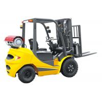 China LPG 2.5 Ton Four Wheel Forklift 18km / H Travel Speed CE Certification on sale