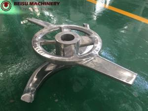 China Good Mixing Effect Plastic Machine Parts High Speed Plastic Mixer Blade on sale