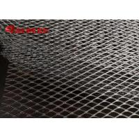 Flattened Expanded AISI304 and AISI316 Stainless Steel Stretched Sheet Decorative Mesh