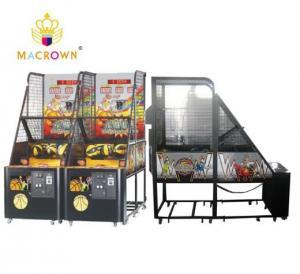 China Shoot To Win Street Basketball Arcade Machine , Electronic Basketball Throwing Machine on sale