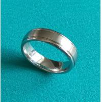 7mm Dome Cobalt Chrome Double Grooves Wedding Band Ring
