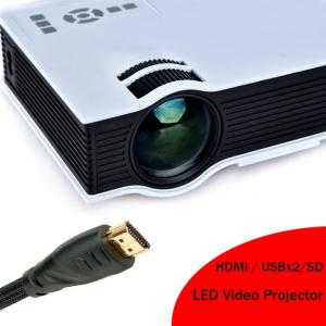 China 2016 New Arrival HD LED Projector Built In Speaker HDMI Support 1080p LED Video Projecteur on sale