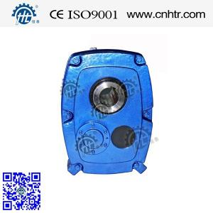 China Fenner Type SMSR Shaft Mount Gearbox For Crusher Conveyor Belt B-J Size Ratio 5-20 on sale