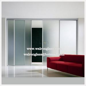 China clear Sliding door and glass on sale