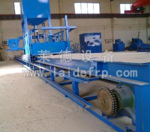 China FRP sand adding pipe production line on sale