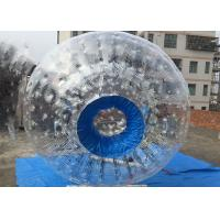 Blue PVC Inflatable Zorb Ball Human Sized Hamster Ball 260*180cm