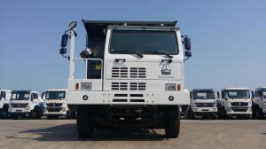 China Euro Two Mining Dump Truck  50 Tons / 70 Tons 6*4  371 Hp Manual Transmission Type on sale
