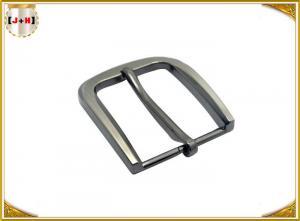 China 35MM Pearl Nickel Brushed Custom Metal Die Casting Belt Buckle For Men's Belt on sale