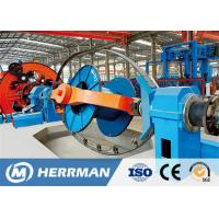 Professional MV LV Cable Lay Up Machine Cage Type Stranding Line Siemens Motor