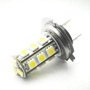 China High power LED auto bulbs led fog light H7 18SMD5050 DC12V LED CAR LIGHT on sale