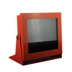 China Carbon Steel LED 15inch Explosion Proof CCTV Monitor for Industry Hazardous Area on sale