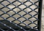 Decorative Woven Expanded Aluminium Mesh Light Weight Facade Cladding