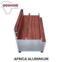 Wooden Marable Aluminum Heatsink Extrusion Profiles Length Shape Customize